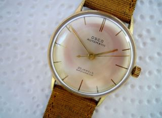 Osco Automatic Hau,  Werk Os 1065,  60er Jahre Bild