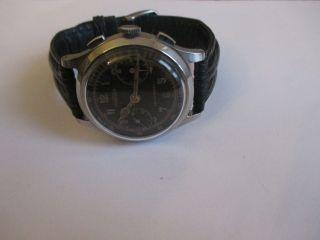 Vintage Angelus Schaltrad - Chronograph Handaufzug Stahl Bild