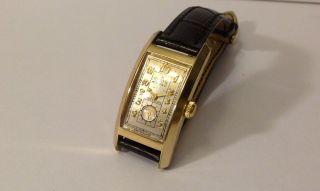 Gruen Sammlerstück Curvex Precision Handaufzug 1930er Jahre Bild