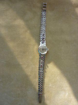 Damenuhr Luxus 17 Steine 835 Silber Bild