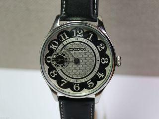 Movado - Großkaliber Herrenuhr (men ' S Wrist Watch).  44mm Durchmesser.  Mariageuhr Bild