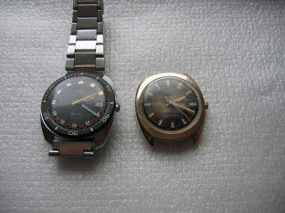 2 St.  Timex Armbanduhr Quarz Und Handauzug Bild