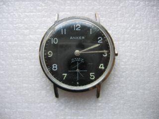 Anker Incabloc 17 Rubis Armbanduhr Bild