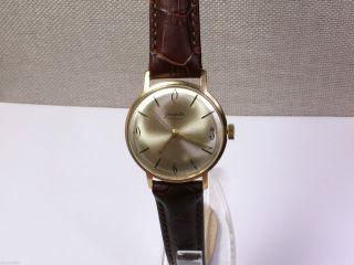 Gub Glashütte Kaliber 70.  1 Schöne Herrenuhr (men ' S Wrist Watch).  Handaufzug. Bild