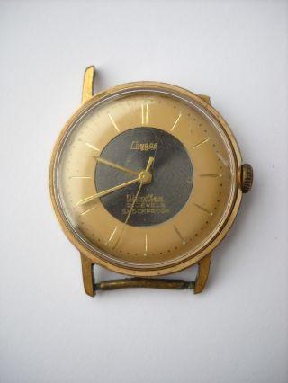 Condor,  Herren Armbanduhr,  Vergoldet Bild