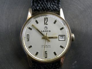 Lanco Handaufzug 17 Je.  Swiss Made Bild