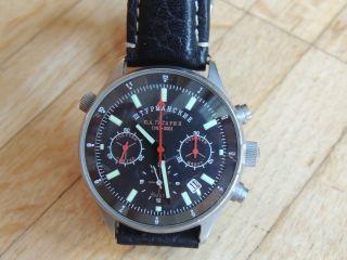 Poljot Sturmanskie Gagarin 2001 Chronograph Jubiläum Limitiert Kaliber 31681 Bild