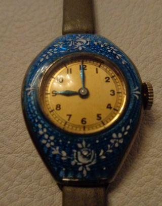 Sammlerstück Emaille - Uhr Aus Den 60ern Extrem Selten Bild