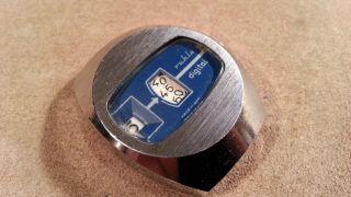Vintage Ruhla Discus Uhr Made In Ddr Fuer Bastler Bild