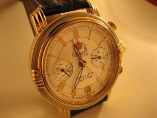 Poljot Intenational 3133 Nikolai Ii Handaufzug Chronograph Mechanisch Uhr Bild