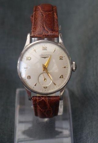 Longines Armbanduhr Handaufzug,  Sekunde Auf 6 - Zur Reparatur Bild
