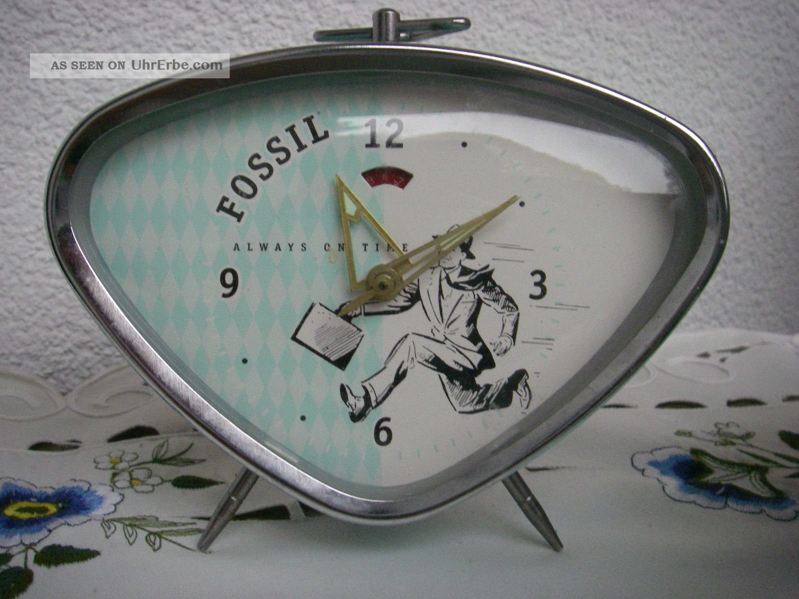 Wecker retro style authentic fossil alarm clock drei st ck - Retro stuhle gunstig ...