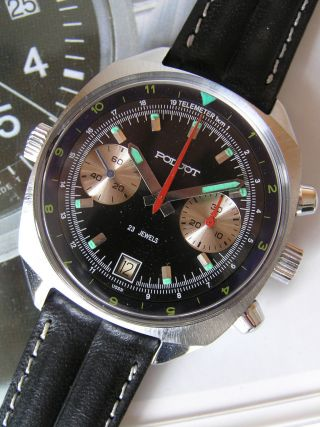 Poljot Herrenuhr Chronograph - Poljot 3133 - Russian Military Watch Bild