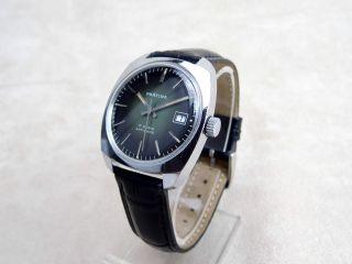 Antike Prätina Mechanische Armbanduhr Mit Handaufzug Bild