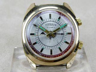 Cornavin Antike Armbanduhr Mit Weckfunktion Alarm Wecker Handaufzug Bild