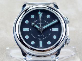 Poljot Armbanduhr Mit Weckfunktion Alarm Wecker Handaufzug Bild
