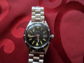 Vintage Anker Taucheruhr Diver Watch Bild