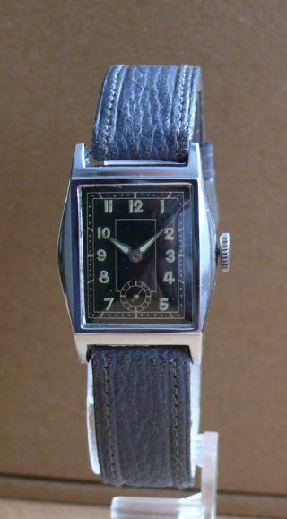Nos - Armbanduhr Aus Pforzheim Herstellung 1938 Bild