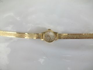 Echtgoldarmbanduhr Longines 585 Bild