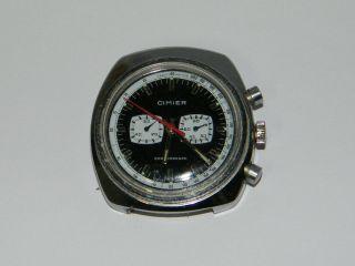Cimier Chronograph Vintage Handaufzug,  Wrist Watch,  Läuft Bild