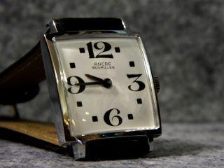 Herrenuhr Ancre Goupilles Vintage 70er Handaufzug Bild
