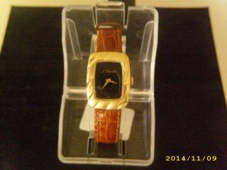 J.  Chevalier Herren - Damen Armbanduhr.  Vergoldet Swiss Made Bild
