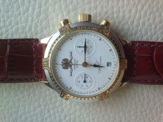 Russische Uhr Handaufzug Poljot Chronograph 3133 - Präsident Boris Jelzin Bild