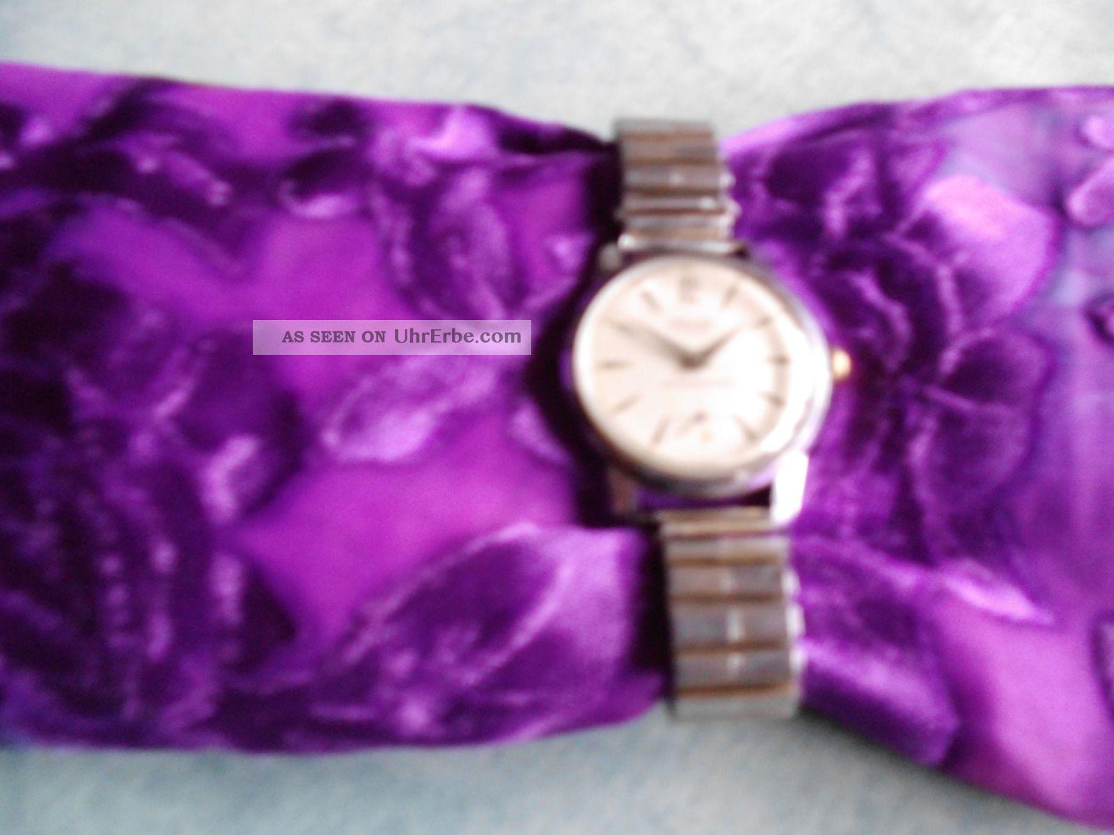 Nivada Uhr Wehrmachtswerk Incabloc Handaufzug Mit Zugarmband Armbanduhren Bild