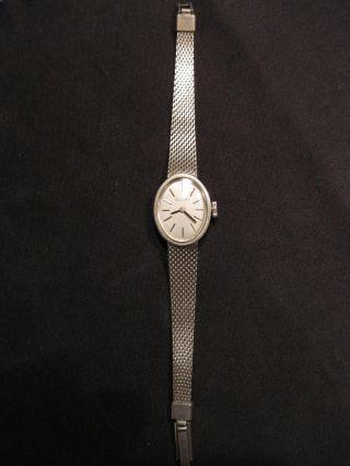 Damen Silber - Armbanduhr Primato,  Läuft,  Mechanisch: Handaufzug Bild