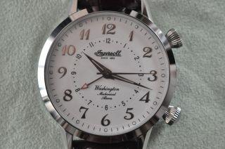 Ingersoll Washington Armbanduhr Mit Handaufzug Und Mech.  Alarm Bild