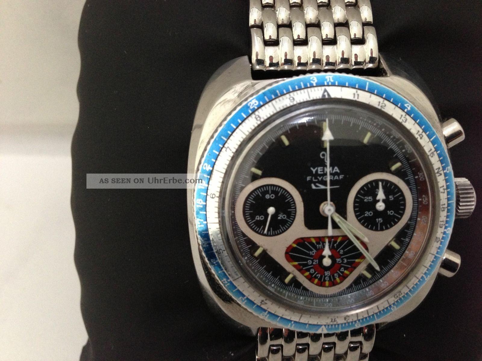 Sammler Uhr Yema Flygraf Armbanduhren Bild