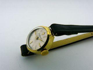 Armbanduhr Prätina Kal.  Femga 45 Handaufzug 585/ Gold Bild