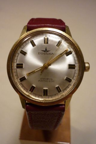 Herrenuhren Dugena Mechanisch - Handaufzug 17 Rubis Uhr Armbanduhr Bild