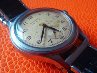 Longines Militär Military Watch With Screwback Case And Movement Bild