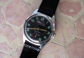 Kienzle Alfa Armbanduhr In Top -,  Schwarz,  Selten,  Sammleruhr Bild