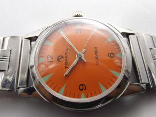 Tressa Swiss Armbanduhr Handaufzug Mechanisch Vintage Sammleruhr 156 Bild