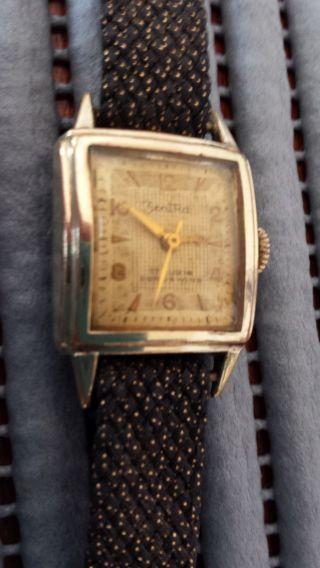 Zent Ra Damen&herren Uhr Mit Handaufzug Mechanisch Vintage (1920 - 1970) Bild