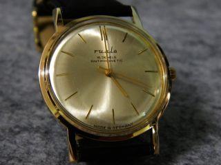 Herrenuhr Ruhla Vintage 70er Handaufzug 15 Jewels Ddr Nostalgie Bild