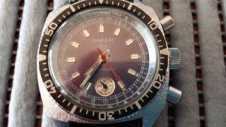 Anker Herren Chronograf Vintage Cal.  Umf 24 - 53 Bild