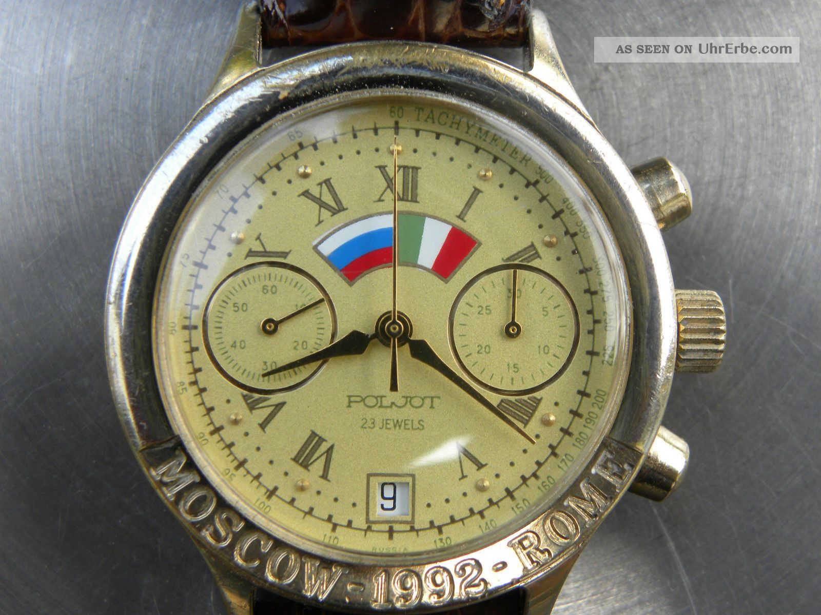 Poljot Mechanischer Chronograph Armbanduhren Bild