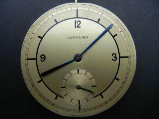Longines Swiss Taschenuhrenwerk Mit Breguetspirale Bild