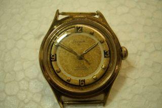 Stowa B Alte Herren Armbanduhr 50 ' Er Jahre Durowe Kaliber - Gebr. Bild