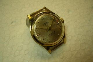 Anker Alte Herren Armbanduhr 50/60 ' Er J.  Kal.  Hirsc 115 A - Gebr. Bild