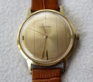 Certina Handaufzugsuhr Herren Armbanduhr Kal.  25 - 36 17 Jewels Bild
