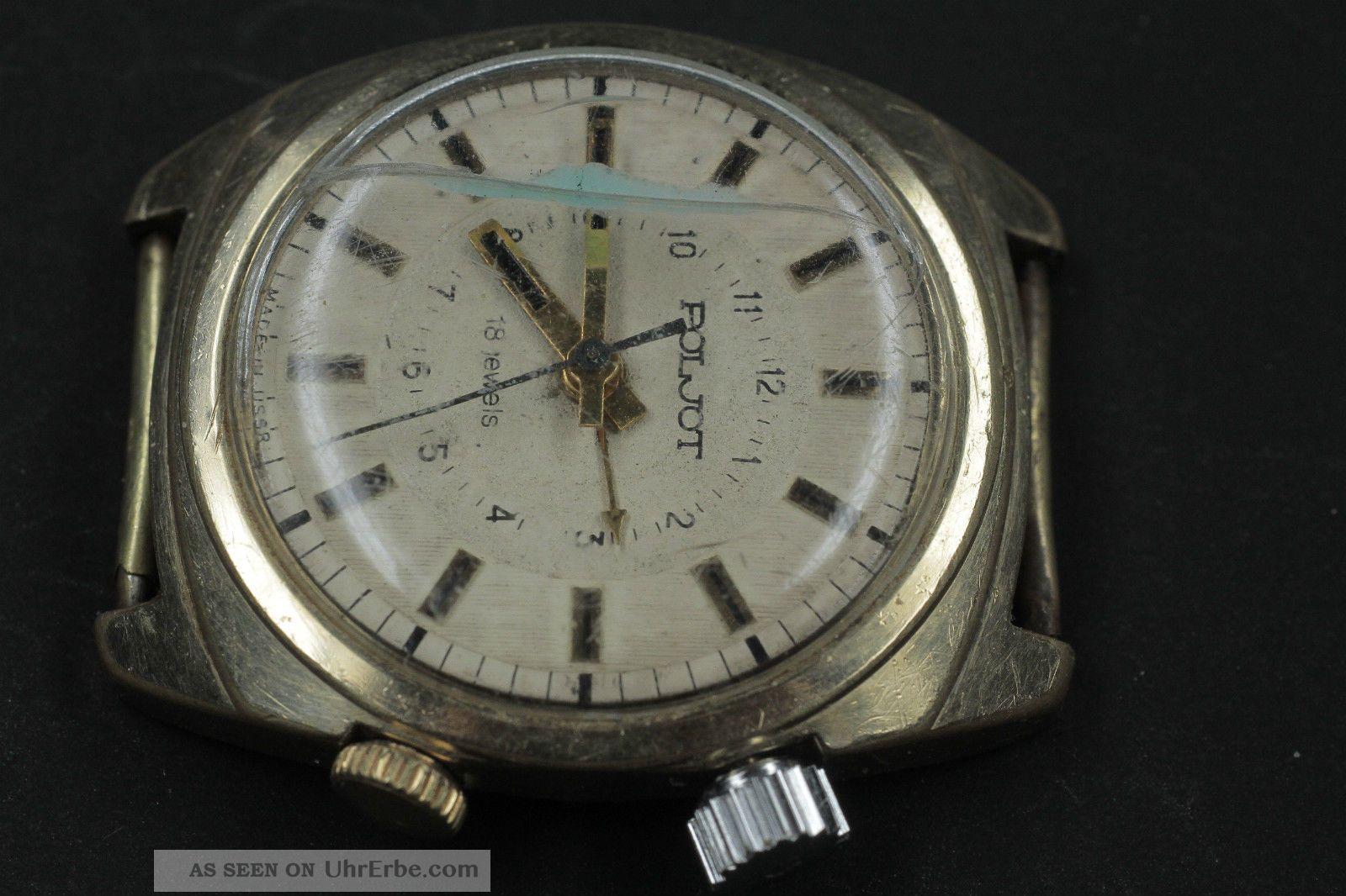Poljot Wecker Armbanduhren Bild
