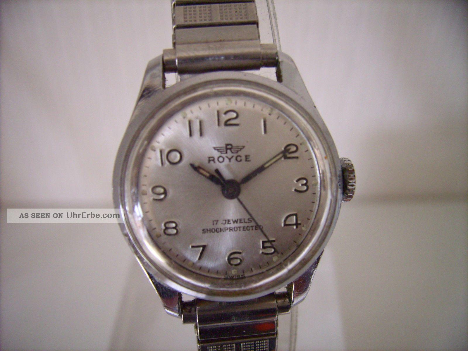 Royce Damen Armbanduhr 80er Jahre Kal.  Fef 6680 Armbanduhren Bild