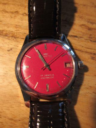 Seltene Fortis Uhr,  Handaufzug,  Datumsanzeige,  Uhren - Klassiker Bild