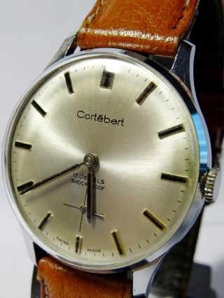 Cortebert Handaufzug Swiss Made Bild