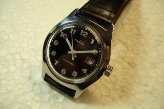 Ruhla Nos Alte Herren Armbanduhr 70 ' Er J.  Umf Kaliber Sehr Guter Zust. Bild