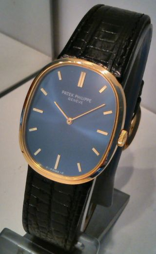 Patek Philippe Golden Ellipse Herrenuhr Men´s Watch 18 K Gold Bild